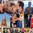 Ticiane Pinheiro e Cesar Tralli se casaram em dezembro de 2017 após um namoro de idas e vindas iniciado em fevereiro de 2014