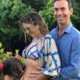 Ticiane Pinheiro teve ajuda da filha, Rafaella Justus, a escolher o nome da sua filha com o marido, Cesar Tralli
