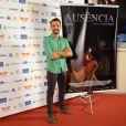 Irandhir Santos esteve no tapete vermelho para apresentar o filme 'Ausência'