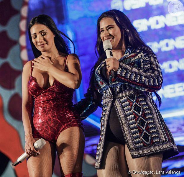 Simone e Simaria voltaram aos palcos no Carnaval neste domingo, 3 de março de 2019