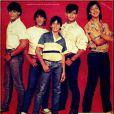 O grupo Menudo fez grande sucesso no Brasil na década de 80