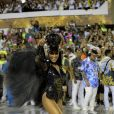 Sabrina Sato se vestiu de Maria Fumaça para o desfile da Vila Isabel no carnaval 2019