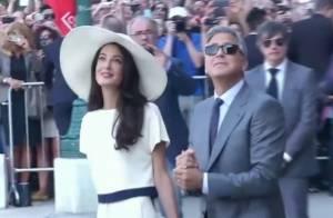 George Clooney e Amal Alamuddin se casam no civil em cerimônia de 10 minutos