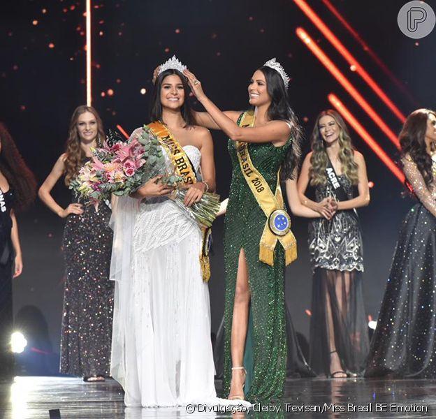 Júlia Horta, de 24 anos, de Minas Gerais, foi eleita a Miss Brasil 2019, neste sábado, 9 de março de 2019
