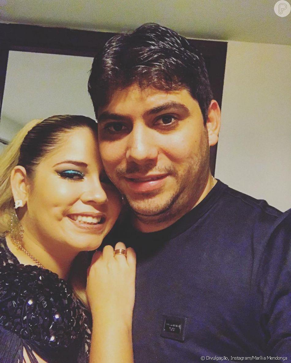 Marília Mendonça abre jogo no Twitter sobre fim de noivado com empresário Yugnir Ângelo nesta terça-feira, dia 12 de março de 2019