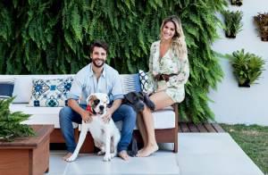 Bruno Gagliasso e Giovanna Ewbank abrem casa para revista. Veja fotos!
