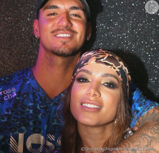 Jantar de Anitta e Gabriel Medina teve beijo; cantora não comenta relação a Leo Dias nesta quinta-feira, dia 14 de março de 2019