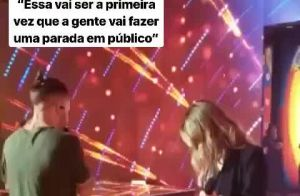Sandy e Junior cantam juntos após anúncio de turnê: '1ª vez em público'. Vídeo!
