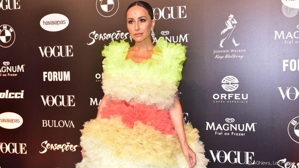 Sabrina Sato foi a grande estrela do Baile da Vogue deste sábado, 23 de março de 2019