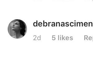 Pai de Débora Nascimento explica que foto da atriz de aliança é antiga: 'Acervo'