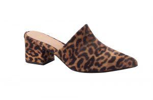 Mule com estampa de bicho, o sapato comfy da meia-estação e muito estiloso