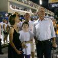 Harrison Ford e Calista foram recebidos pelo prefeito Eduardo Paes