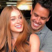 Marina Ruy Barbosa cita desafios de casamento e elogia marido: 'Te admiro'