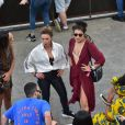 Larissa Ayres e Maria Maya curtem juntas último dia do festival de música Lollapalooza