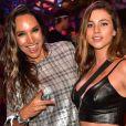 Maria Maya e Larissa Ayres comentam repercussão do namoro no Lollapalooza, em 7 de abril de 2019