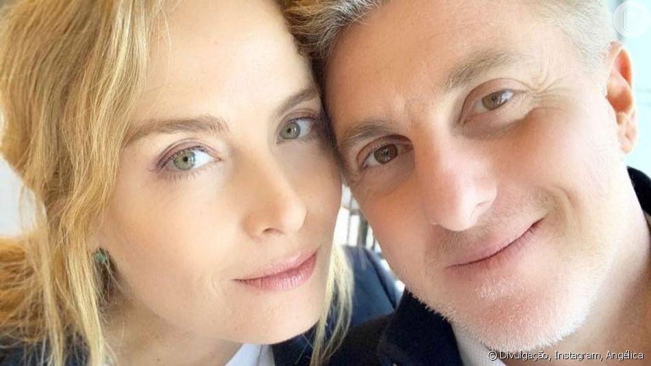Angélica se declara para o marido, Luciano Huck, em foto publicada no Instagram nesta terça-feira, dia 09 de abril de 2019