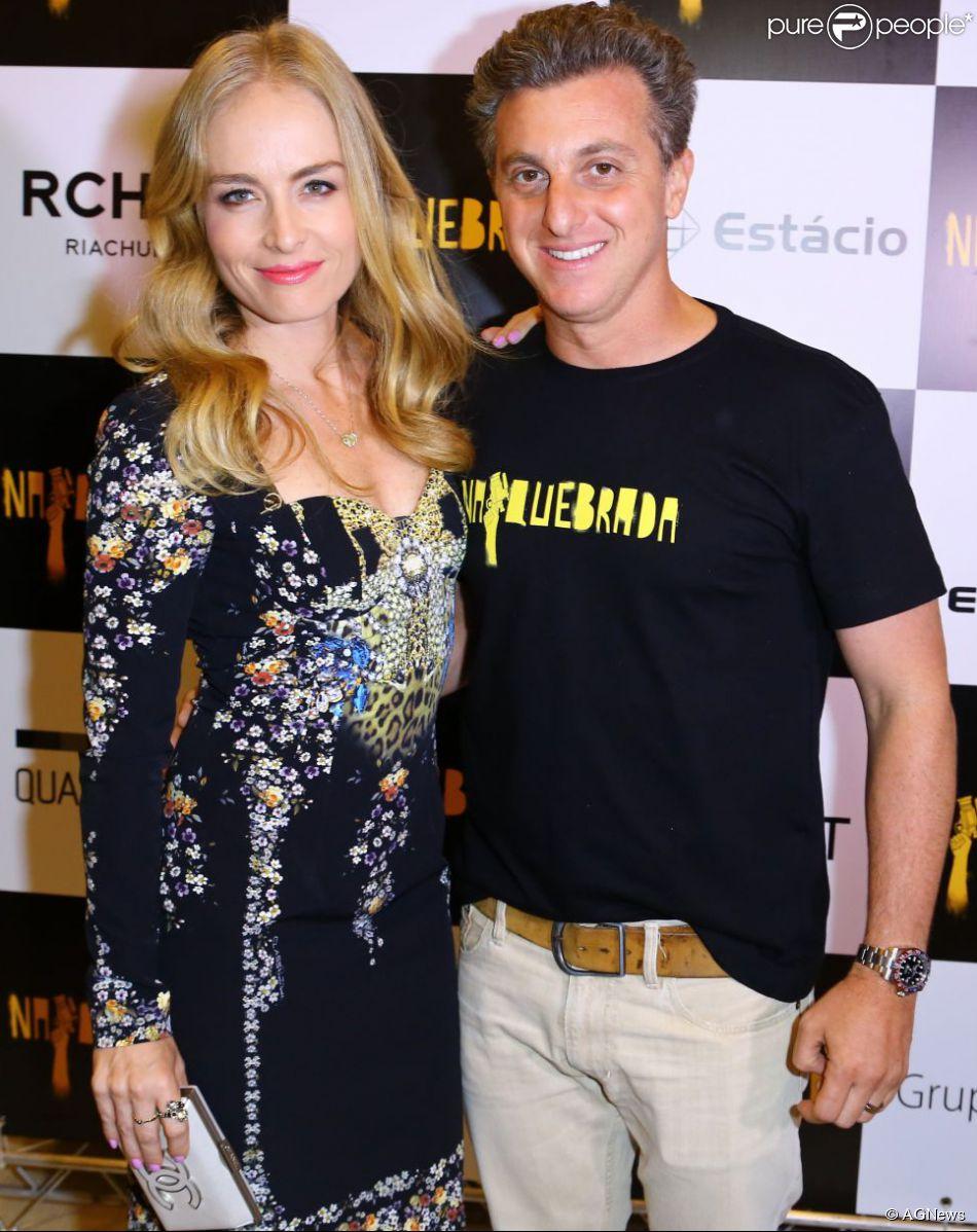 Angélica e Luciano Huck completam 10 anos de casados nesta quinta-feira, 30 de outubro de 2014