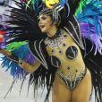 Mileide Mihaile fez sua estreia no Carnaval do Rio de Janeiro