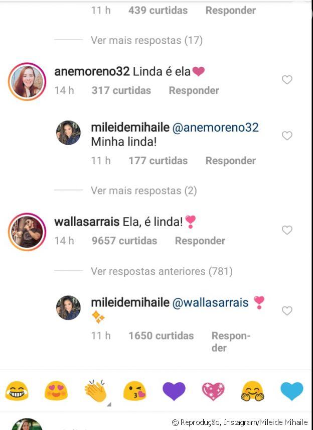 Mileide Mihaile ganha elogio de cantor apontado como novo affair: 'Linda'
