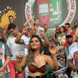 Mileide Mihaile mostrou seu rebolado em show de cantor apontado como seu novo affair, Wallas Arrais