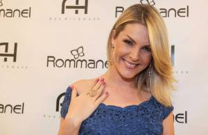 Ana Hickmann, após chorar em programa de TV, lança coleção de joias em São Paulo