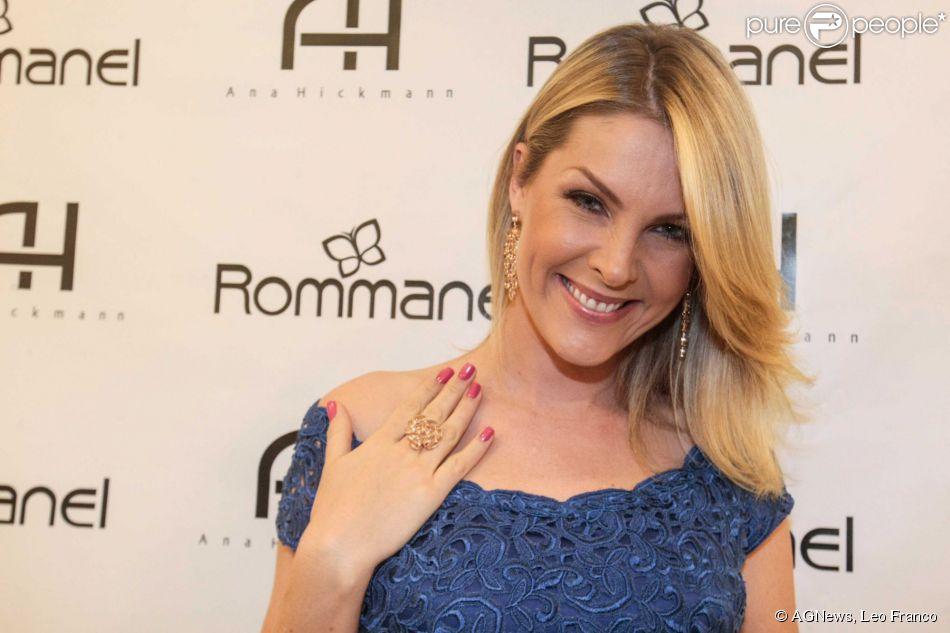 26334db72900f Ana Hickmann lançou uma coleção de joias em São Paulo nesta segunda-feira (6
