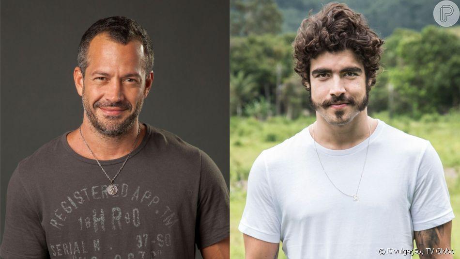 Malvino Salvador e Caio Castro viverão par romântico na novela 'A Dona do Pedaço'