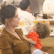 Rafa Brites minimiza registro de birra do filho em shopping:'Vão se identificar'