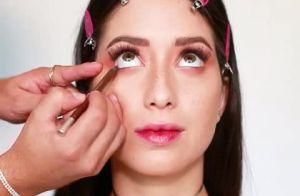 9a5e52870 Maquiador Lucas Luz ensina maquiagem fresh e natural que combina tanto para  festivais, para durar o dia inteiro, como para maquiagens mais noturnas.