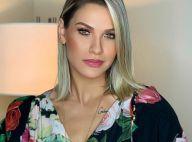 Andressa Suita usa look grifado de R$ 14 mil e dança com Gusttavo Lima em show