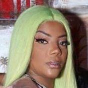 Camisola sexy, peruca verde e funk: veja como foi a festa do pijama de Ludmilla