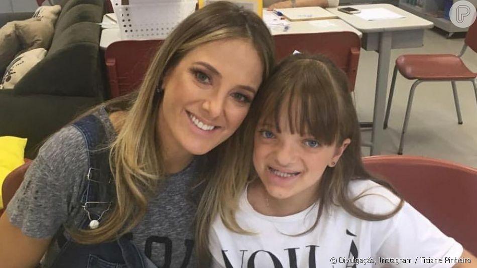 Ticiane Pinheiro explicou por que não deixa a filha, Rafaella Justus, ter Instagram