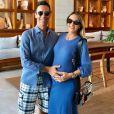 Ticiane Pinheiro comemorou 5 anos de relação com Cesar Tralli