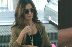 Fátima Bernardes vai às compras e anel de compromisso rouba a cena. Fotos!