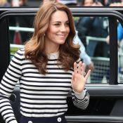 Moda acessível com Kate Middleton: duquesa elege calça de R$ 667 para look navy