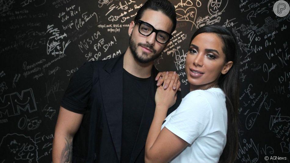 Anitta e Maluma gravam vídeo juntos e internet torce por casal