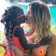 Giovanna Ewbank tem uma relação aberta com a filha, Titi