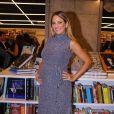 Ticiane Pinheiro é fã de vestidos de malha que evidenciem a gravidez