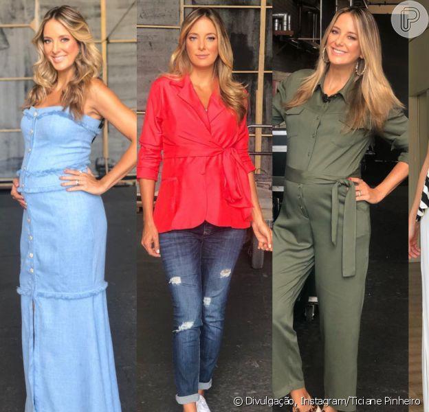 Mamãe fashion! Stylist de Ticiane Pinheiro detalha looks da apresentadora na gravidez nesta segunda-feira, dia 13 de maio de 2019