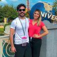 Uma seguidora de Jéssica Costa, mulher de Sandro Pedroso e filha do cantor Leonardo escreveu:'Assisti sua entrevista com Antonia (Fontenelle), minha admiração por você só aumentou'.