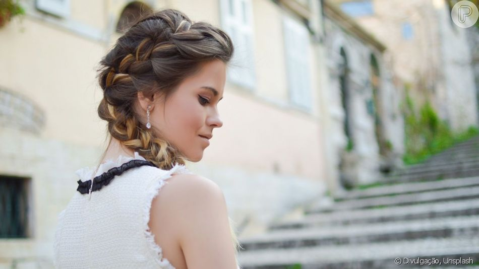 Inspire-se em penteados com tranças para festas!