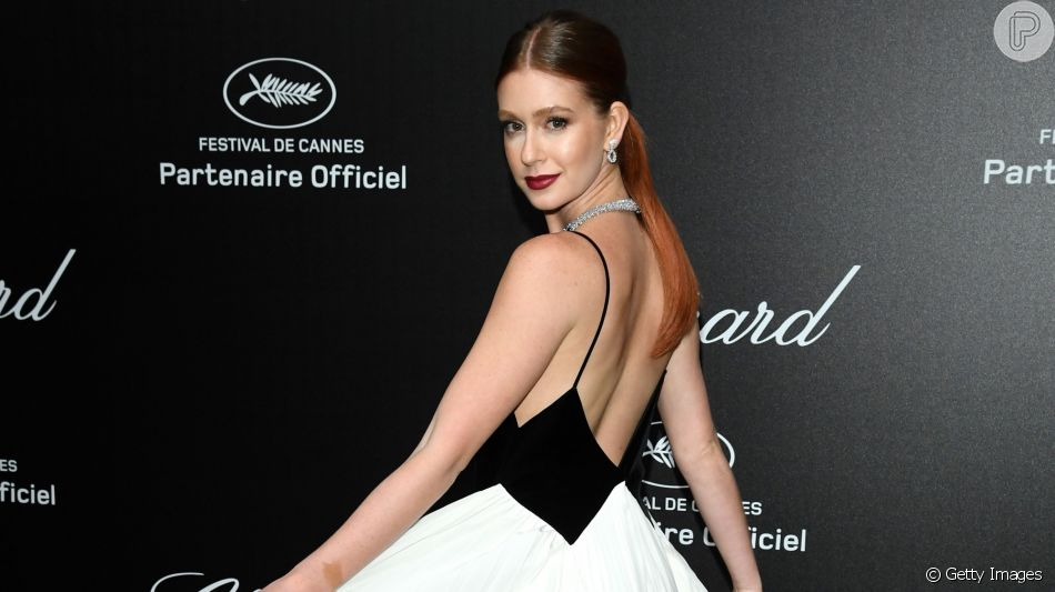 Marina Ruy Barbosa usa look elegante da Givenchy em Cannes