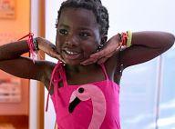 Títi, filha de Gio Ewbank e Gagliasso, é tietada por tio em aula de balé. Vídeo!