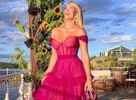 Wedding do ano: vestidos rosas com corset, plissados e babados em looks sensuais