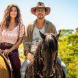 Maria da Paz (Juliana Paes) vai contar para Amadeu (Marcos Palmeira) como contruiu seu império de bolos na novela 'A Dona do Pedaço'.