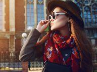 Pra ficar quentinha e estilosa: saiba como combinar o lenço no look. Fotos!