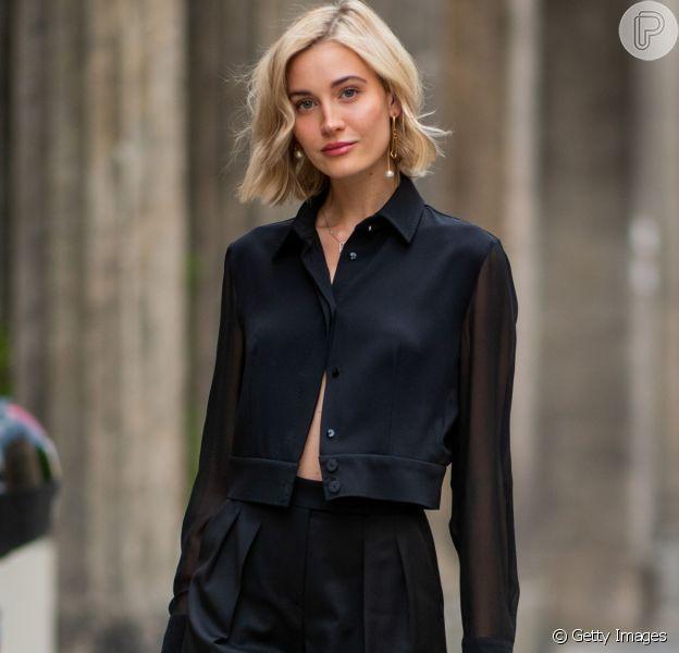 Confira inspirações de looks estilosos com calça preta!