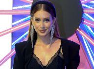 Delicada e moderna, Marina Ruy Barbosa usa tiara e deixa lingerie à mostra