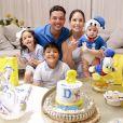 Wesley Safadão é pai de Dom, de 8 meses, Ysis, de 4 anos, e  Yhudy, de 8