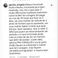 'Falou tudo', escreveu Fernando ao usar print de comentário de fã para se posicionar sobre polêmica envolvendo Maiara